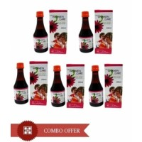 Herbal Tonic for Women  - VXL's Women Care Syrup Combo of 5 Pcs