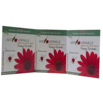 Anti Wrinkle Cream & Face Pack  - F2S Anti Wrinkle Pack of 3
