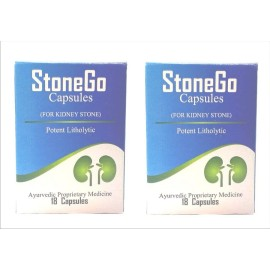 Stonego Kidney Stone Removal Capsules Pack of  3