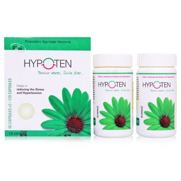 Antihypertensive Herbal Medicine  - HYPOTEN Pack of 3